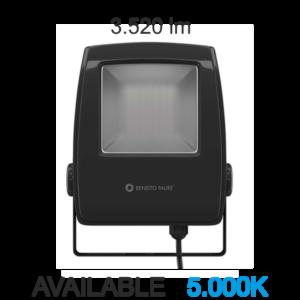 """PROJECTEUR LED """"LIP"""" EXTERIEUR 220V 20W 4000K NOIR 256237NF"""