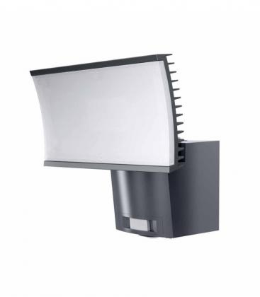 projecteur led ext detecteur floodlight 2 23w gris 9905603. Black Bedroom Furniture Sets. Home Design Ideas