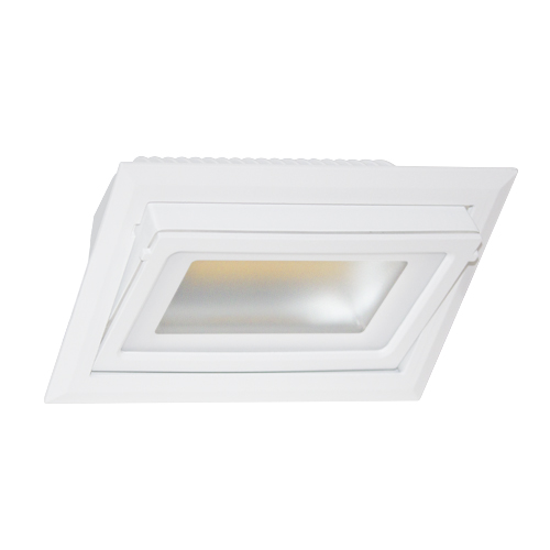 SPOT RECTANGULAIRE ORIENTABLE 40W 4000K BLANC DO14804