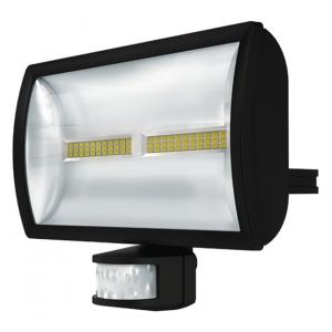 PROJECTEUR LED EXT AVEC DETECTEUR 30W NOIR 5000K 1020916