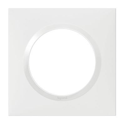Plaque dooxie blanche 1 Poste 600801